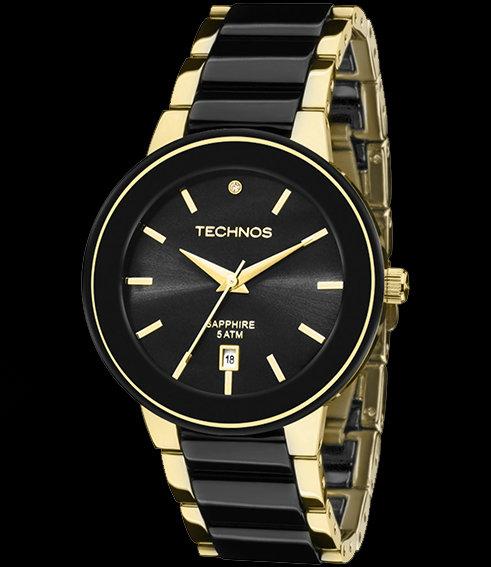 0585a5a0a92 Relógio Technos Feminino - Ceramic - 2115KRS 4P Technos na Monte Blanco