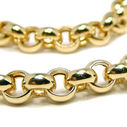 Colar em ouro amarelo 18k - Elo português - Feminino - 45 cm Ouro ... 2bb634c55b