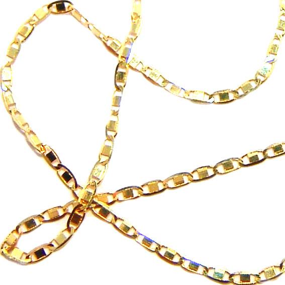 6831a708d12f8 Corrente de ouro amarelo 18k - Cadeado Achatado - Masculina - 60 cm -  2CLO0474