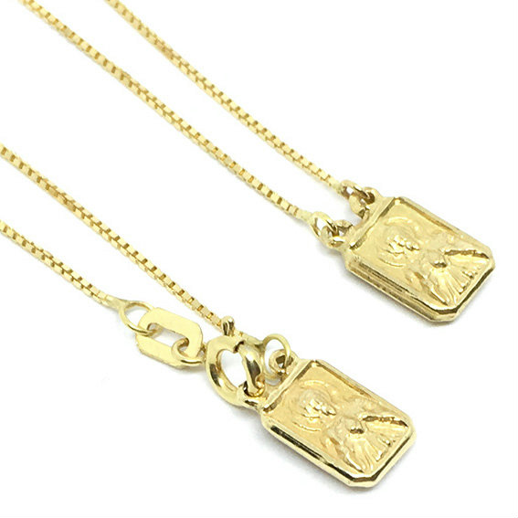 Escapulário em ouro amarelo 18k Ouro Amarelo na Monte Blanco b645e3f57b