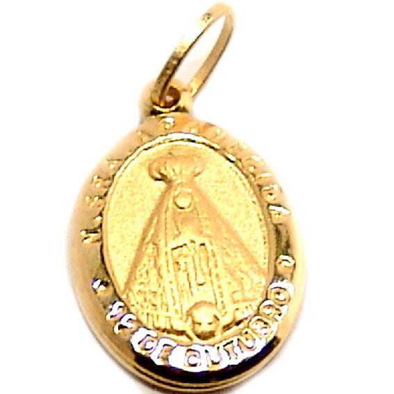 Medalha de Nossa Senhora Aparecida em ouro 18k - 2MEO0280 Ouro ... 7e87e8267d