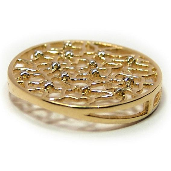 53739af2985b7 Pingente em ouro 18k Ouro Amarelo na Monte Blanco