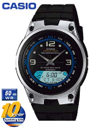 Relógio de pulso Casio - Fishing Gear - AW-82-1AVDF