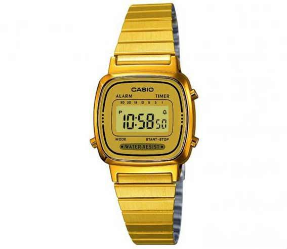 d2e48376d09 Relógio de pulso - Casio - LA670WGA-9DF