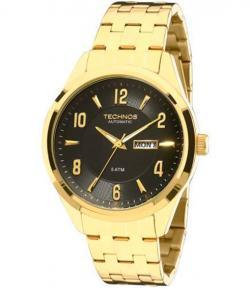 Relógio Technos Masculino - Autoático - 8205NI 4P. 24% oferta 9ec0cf1802