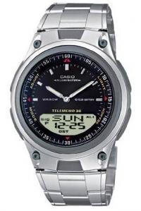 ce37a4096cf Relógio de pulso Casio - Telememo 30 - AW-80D-1AVDFU (Produto Esgotado