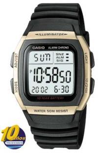 a3a7c1457e8 Relógio de pulso Casio - Mundial - W-96H-9AVDF